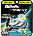 Gillette Mach 3 Razor Refill 5-Pack for $8 + pickup at Walmart
