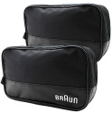 Braun Men's Travel Grooming Bag 2-Pack for $8 + free shipping