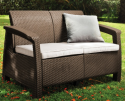 Keter Corfu Outdoor Loveseat for $112 + free shipping