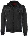 Maximos Men's Envy Hooded Bomber Jacket for $35 + free shipping
