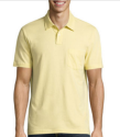 Arizona Men's Solid Jersey Polo Shirt for $6 + $4 pickup at JCPenney
