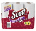 Scott Choose-A-Size Paper Towels 6-Pack for $4 w/ $25 purchase + free shipping w/ Prime