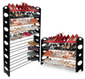 OxGord 50-Pair Shoe Rack for $18 + free shipping