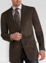Pronto Uomo Men's Microsuede Sport Coat for $30 + free shipping