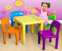 OxGord Kids' Table and Chairs Playset for $30 + free shipping