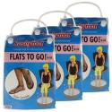 Kushyfoot Women's Flats To Go Sandals 3-Pack for $6 + free shipping