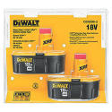 2 DeWalt 18V Batteries, $65 Sears Credit for $100 + free shipping