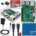 Vilros Raspberry Pi 3 Model B Starter Kit for $55 + free shipping