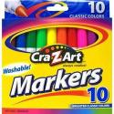 Cra-Z-Art Washable Markers 10-Pack for 50 cents + pickup at Walmart