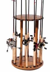 Bass Pro Shops Spinning Floor Rod Rack for $40