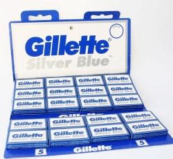 Gillette Silver Blue Razor Blades 100-Pack for $12