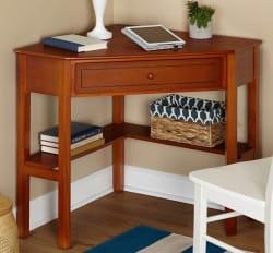 Simple Living Corner Desk for $52