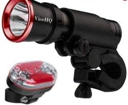 ViceHQ CREE LED Bike Flashlight w/ Taillight $10