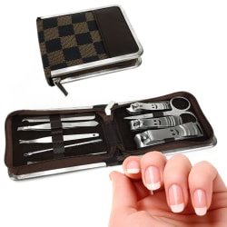 10-Piece Stainless Steel Manicure Set for $7