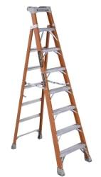 Louisville 8-Foot Step/Shelf Ladder for $95