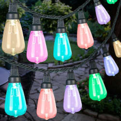 AppLights Smart LED Edison Bulb Light String $10