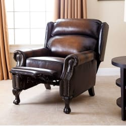 Abbyson Living Mowen Leather Recliner from $499