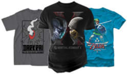 T-Shirts at Gamestop: Buy 1, get 2nd free