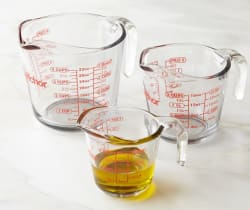 Anchor Hocking 3pc Glass Measuring Cup Set for $13