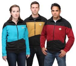 Star Trek: The Next Generation Track Jacket $20