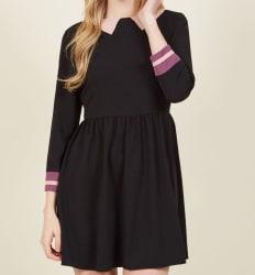 ModCloth Women's Trompe l'Oeil Mini Dress $40