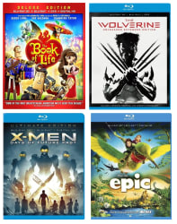 Blu-ray 3D Movies at Best Buy for $9