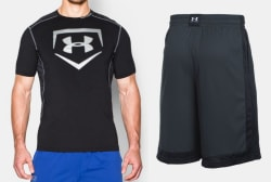 Under Armour Shirts and Shorts from $10