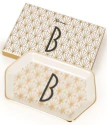 Rosanna Art Deco Letter Porcelain Tray for $5
