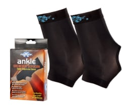 Copper Wear Ankle Compression Sleeve Pair for $9