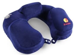 Andake Inflatable Travel Pillow for $11