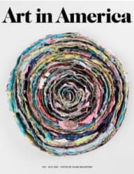 Art in America Magazine 1-Year Subscription free
