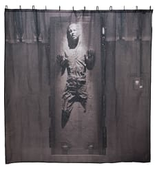 Han Solo in Carbonite Shower Curtain for $12