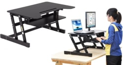 "33"" Standing Desk / Adjustable Work Riser for $100"