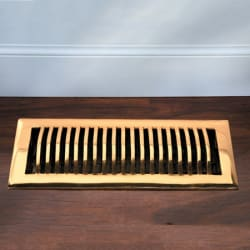 Improvements Solid Brass Floor Register from $3