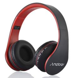 Andoer Foldable Bluetooth Wireless Headphones $10