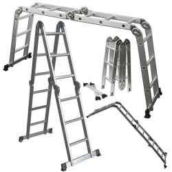 12.5-Foot Multi-Purpose Aluminum Ladder for $60 + free shipping