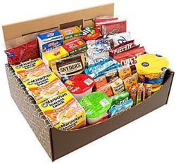 Dorm Room Survival Snack Box for $35