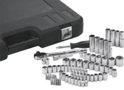 Klutch 74-Piece Mechanic's Socket Set for $37