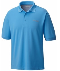 Columbia Men's PFG Perfect Cast Polo Shirt for $16