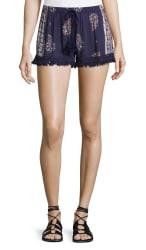 Band of Gypsies Women's Fringe-Trim Shorts for $21
