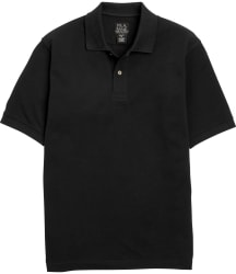Jos. A. Bank Men's Tailored Fit Pique Polo for $16