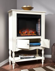 Jefferson Electric Fireplace Bookcase Tower $280