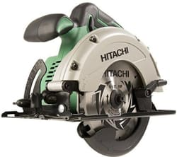 "Hitachi 18V 6.5"" Cordless Circular Saw for $59"