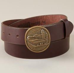 Duluth Trading Co. Men's Buckle Belt for $30