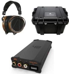 Audeze LCD-2 Headphones w/ iFi USB DAC/Amp $995