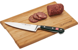 "Wusthof Classic 6"" Chef Knife, Cutting Board $50"