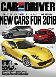 Car and Driver Magazine 2-Year Subscription free