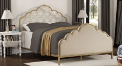 I Love Living Moroccan Quatrefoil Queen Bed $242