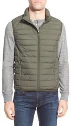 Nordstrom Men's Packable Quilted Down Vest for $20