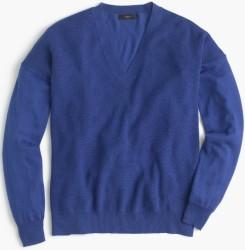 J.Crew Women's V-Neck Sweater for $17